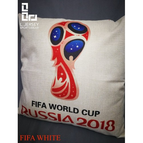 Russia Pillow World Cup 2018 National Graphic