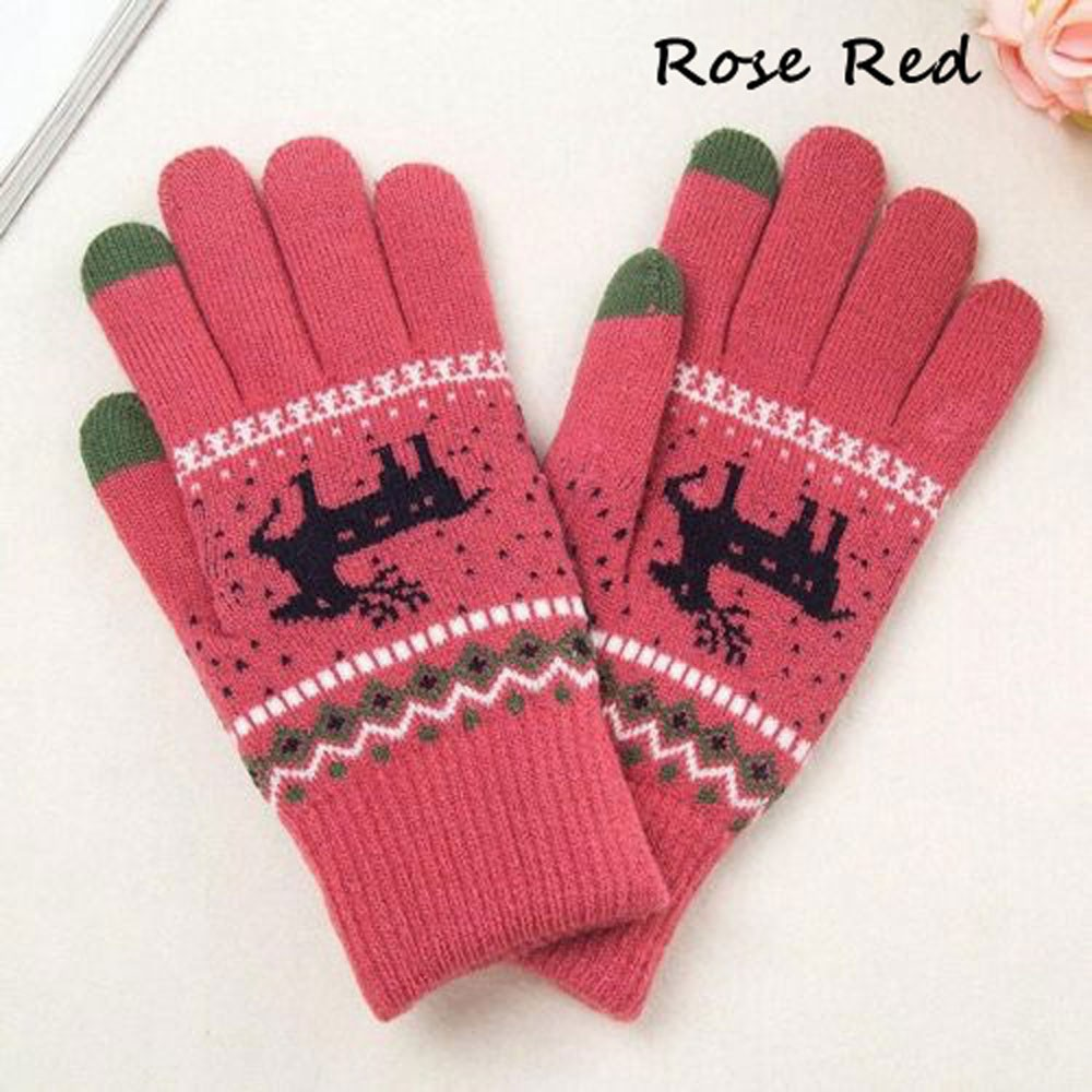 Men's Gloves Ingenious Winter Kids Mittens Soft Warm Fleece Knitted Elastic Thickened Ski Gloves Casual Children Full Finger Gloves Hand Warmer
