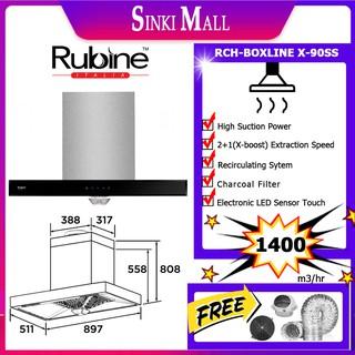 Rubine Elba Penyedut Asap Kitchen Hood Hob Dapur Gas Cooktops Hoods Rubine Boxline Hob Vista2b Bl Elba Elegante 9027 Shopee Malaysia