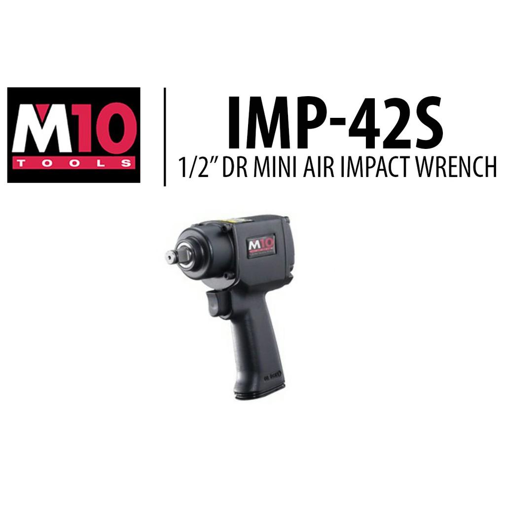 "M10 1/2"" Dr Mini Air Impact Wrench (IMP42S)"