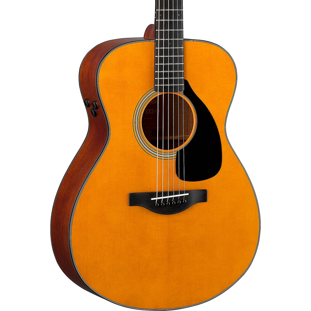 Yamaha Red Label FSX3 Acoustic-Electric Guitar with Hard Bag - Natural (FSX-3)
