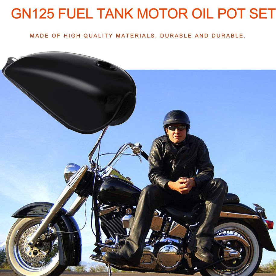 Fuel Tank Gas For Honda GX160 GX200 Engine 5.5HP W// Petcock Cap Filter P GT34