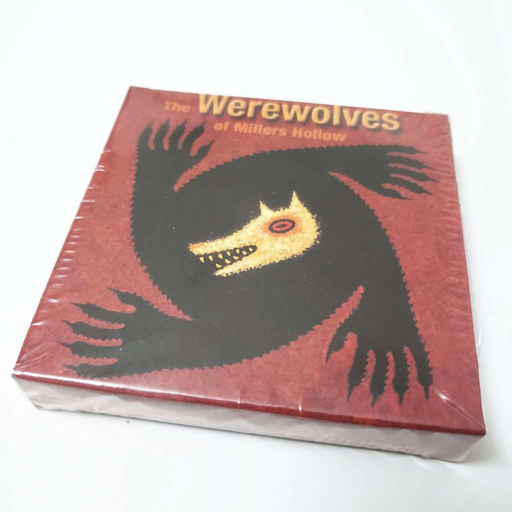 The Werewolves Of Miller/'s Hollow Werewolf Party Card Game