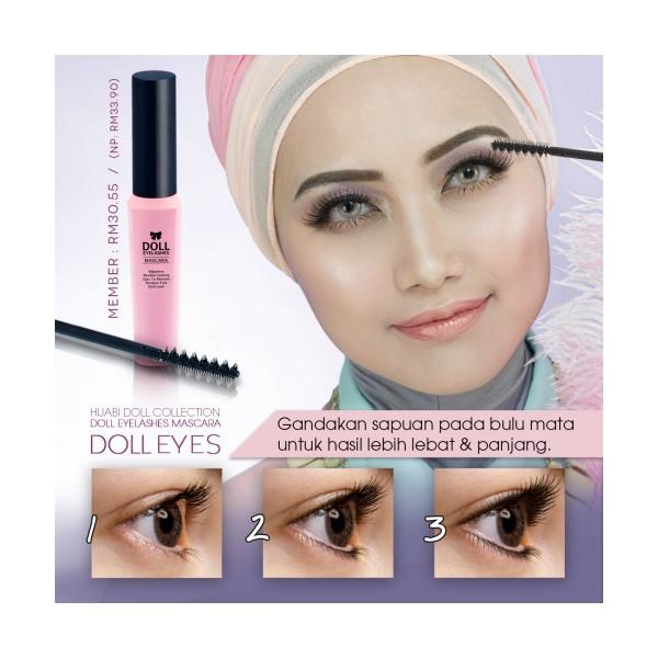 Doll Eyelashes Mascara Sendayu Tinggi Shopee Malaysia