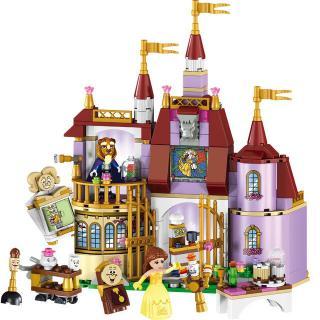 Princess Castle Building Block Bricks Mermaid Ariel Princess Elsa Anna Cinderell