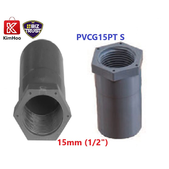 High Quality PVC P/T Socket  SWV 15mm & 20mm