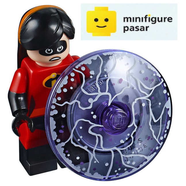 incr006 Incredible Mrs LEGO® Incredibles Minifigs 10760
