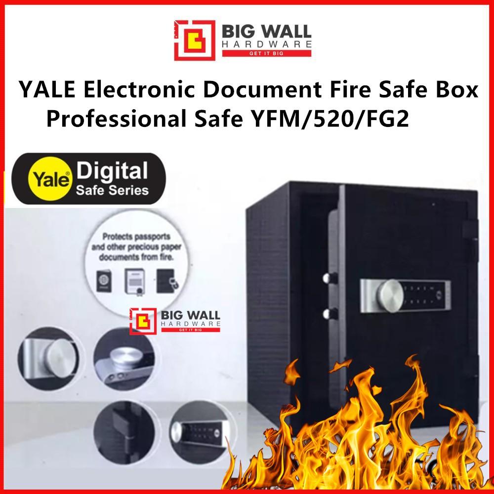 YALE Electronic Document Fire Safe Box Professional YFM/520/FG2