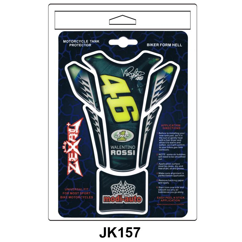 Official MotoGP Motorcycle Motorbike Petrol Tank Protector Pad Yellow//Black