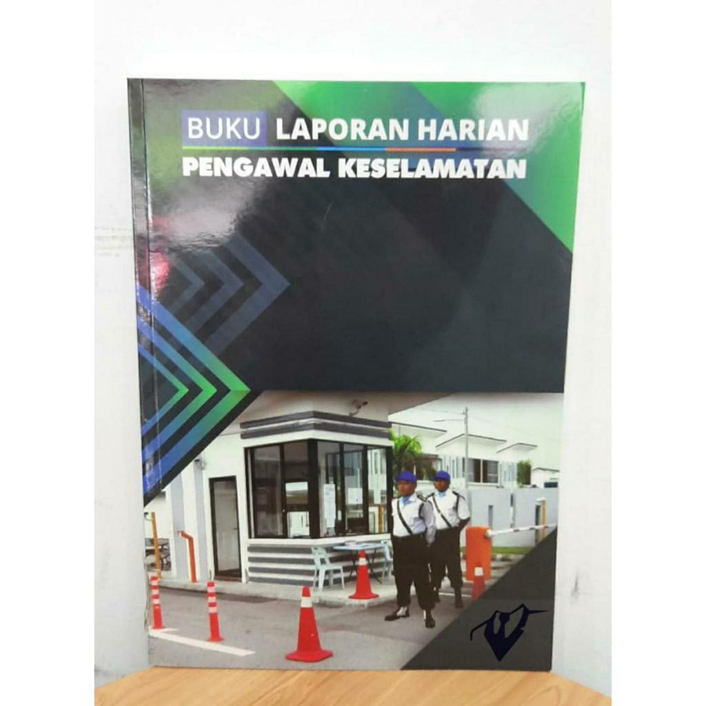 Buku Laporan Pengawal Keselamatan Shopee Malaysia