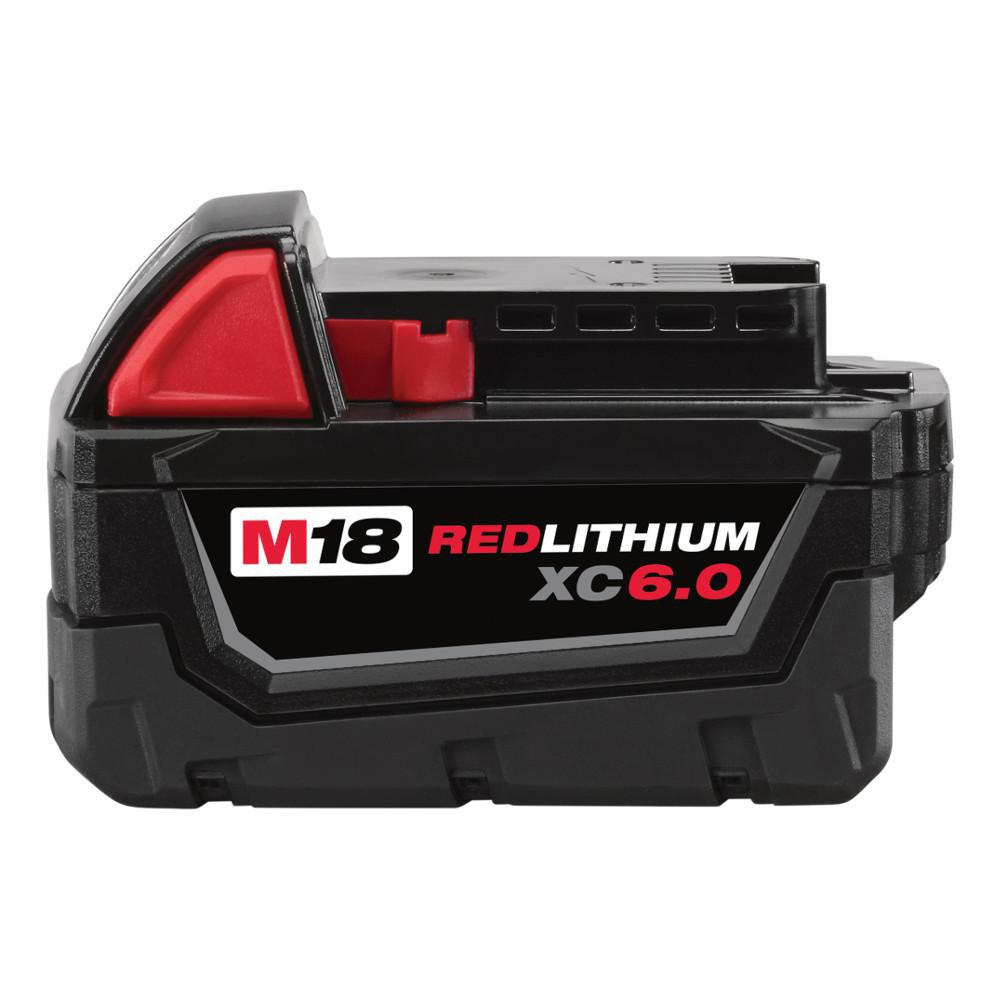 Milwaukee M18 6.0Ah Red Lithium-Ion Battery
