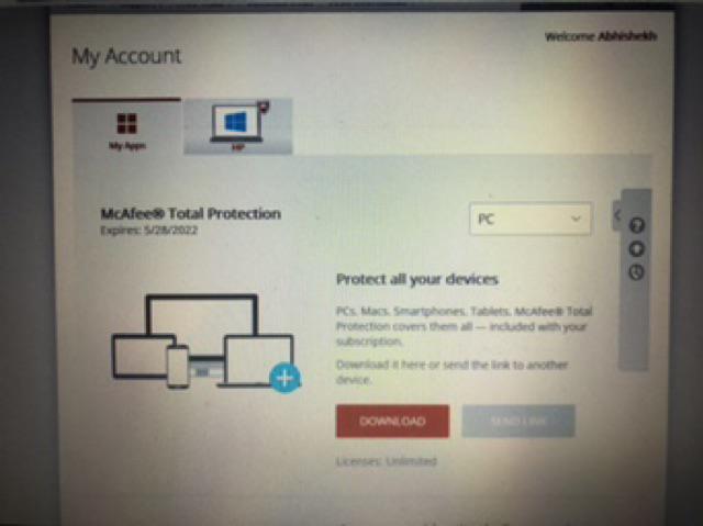 McAfee Total Protection 2019   3Y- 2Y- 1Y   UNLIMITED PC