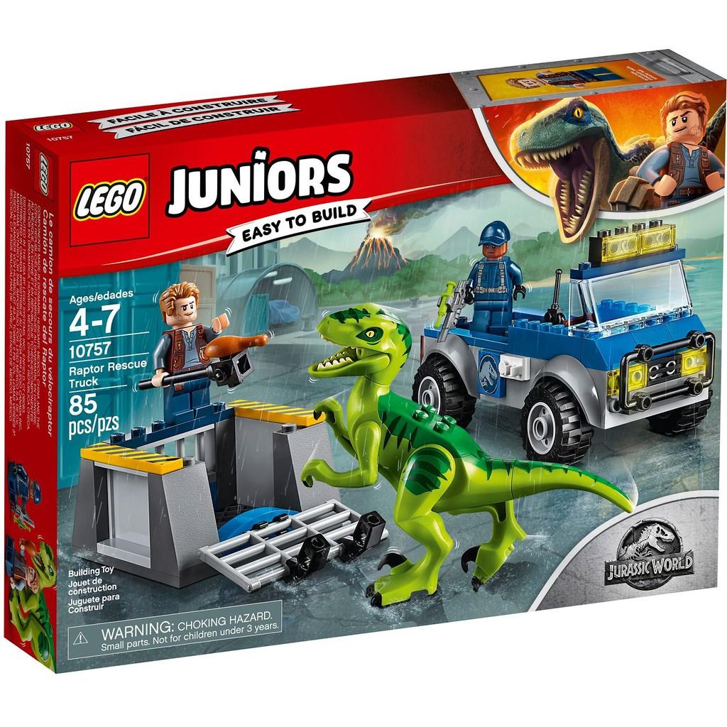 Lego Juniors Truck 10757 Rescue Raptor N0OnwkZ8PX