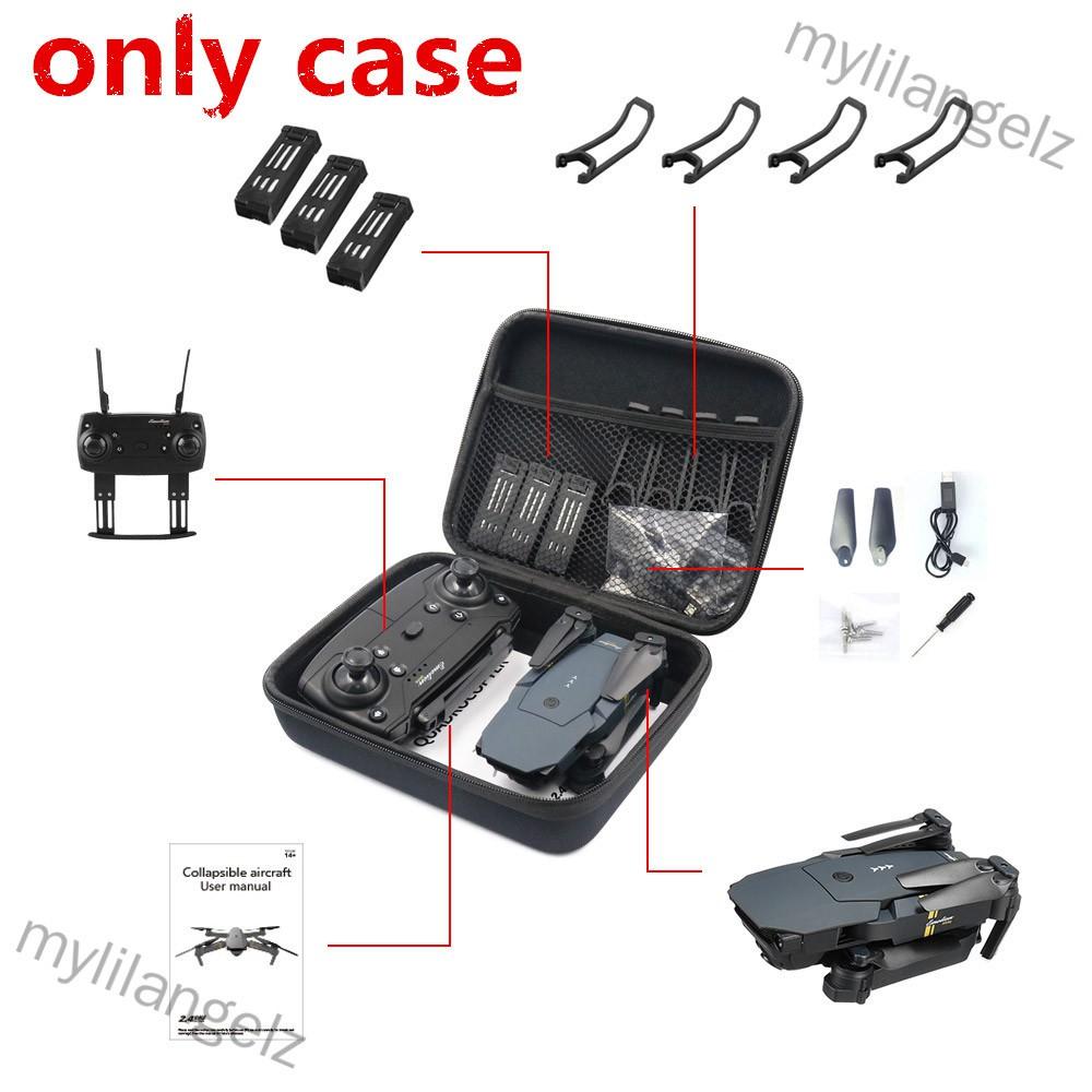 Mylilangelz E58/JY018/JY019/GW58/X6/E010/E010S/E013/E50 Foldable Arm RC FPV Drone Handbag Carrying Case Box Bag