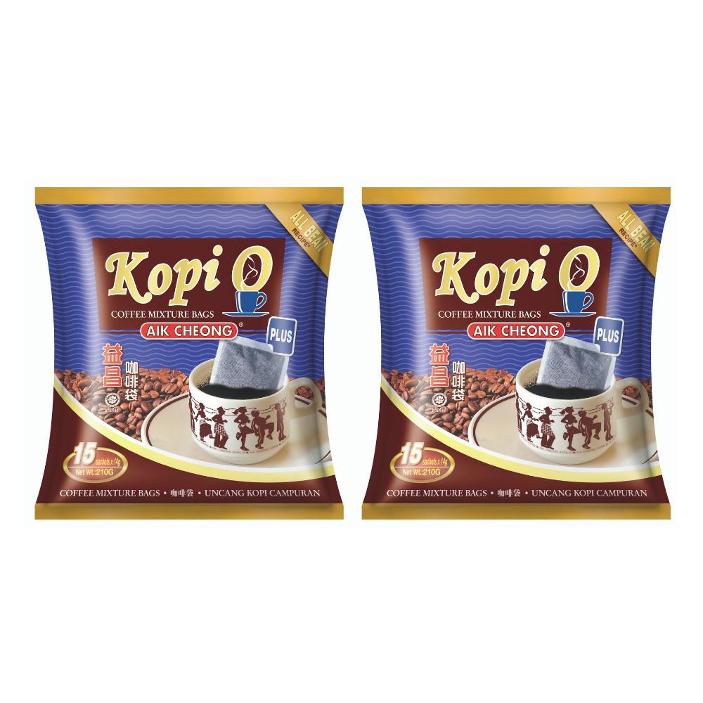 Bundle of 2 Kopi O Plus 210g