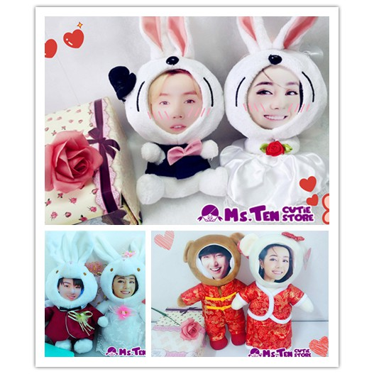 Creative Special Gifts Customized DIY 3D Face Toys Mickey