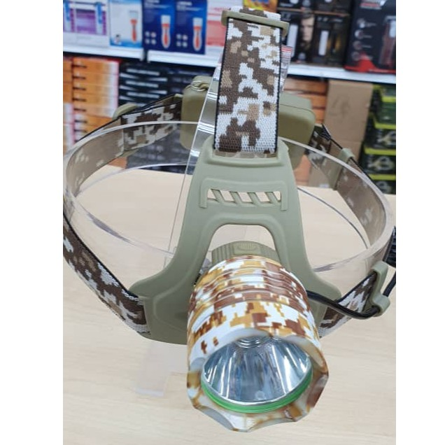 Coruscate Beam Zoomable 3 Modes Headlamp Head Light for Hiking Riding Fishing Hunting Outdoor Sports