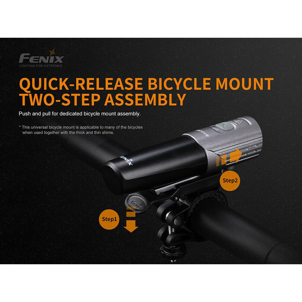 Fenix BC21R V2.0 Bicycle Head Light 1000LM USB Charging 2600mAh 18650 Flashlight