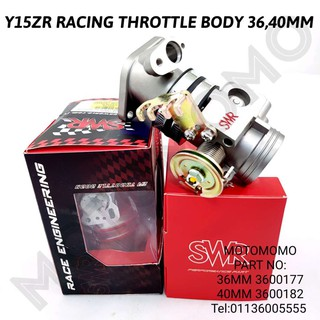 YAMAHA Y15ZR /FZ150I THROTTLE BODY 40MM SCK RACING | Shopee