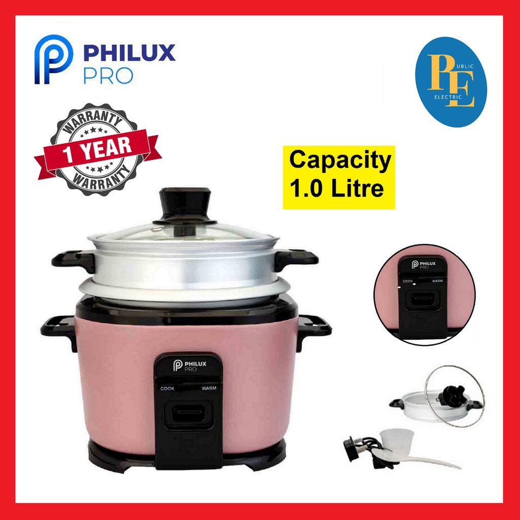 Philux Pro Multi Funtional Rice Cooker 1.0Litre - PP-100R