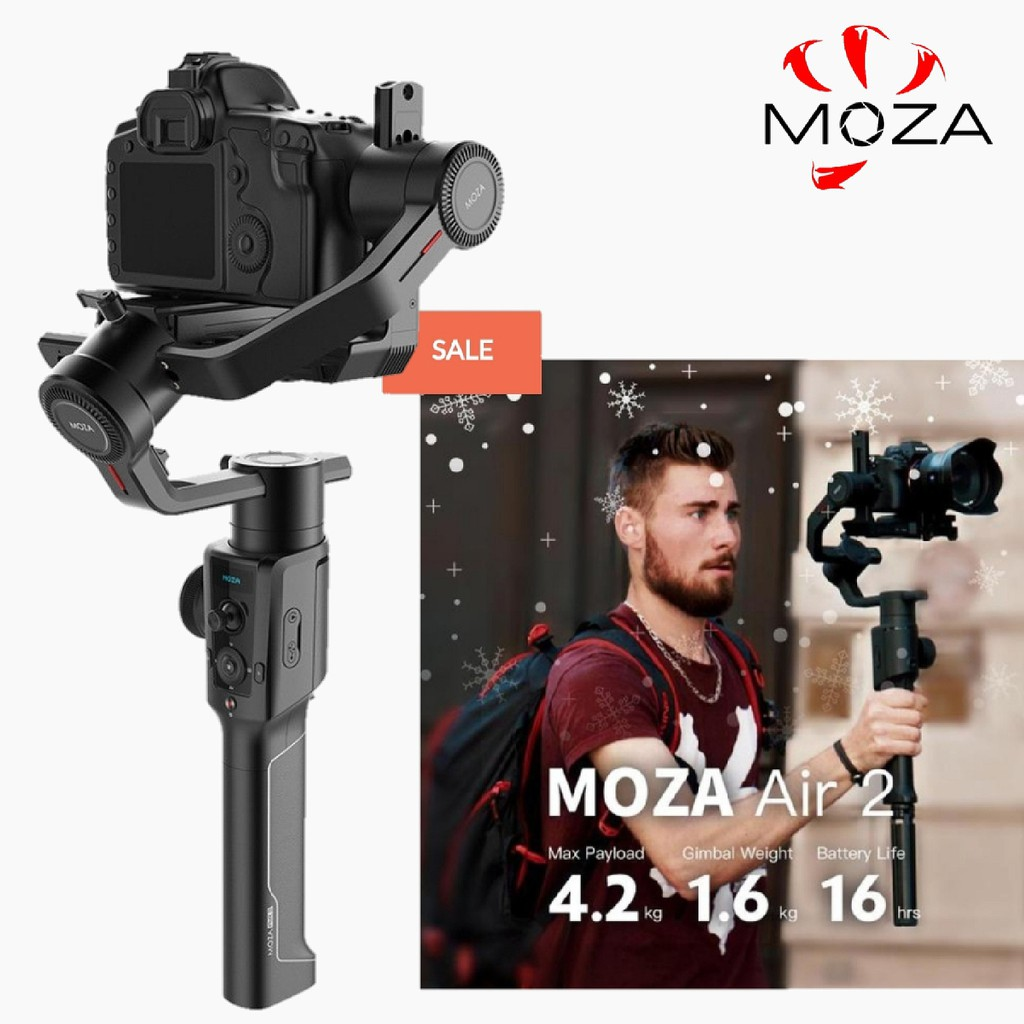 MOZA Air 2 Professional Camera Stabilizer Gimbal (Payload Up To 4 2kg)