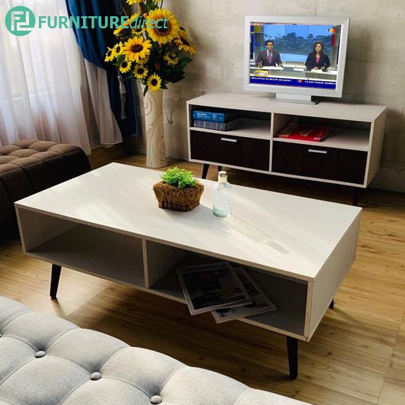 Furniture Direct MEERA Scandinavian 4 Feet living set-Light Oak color
