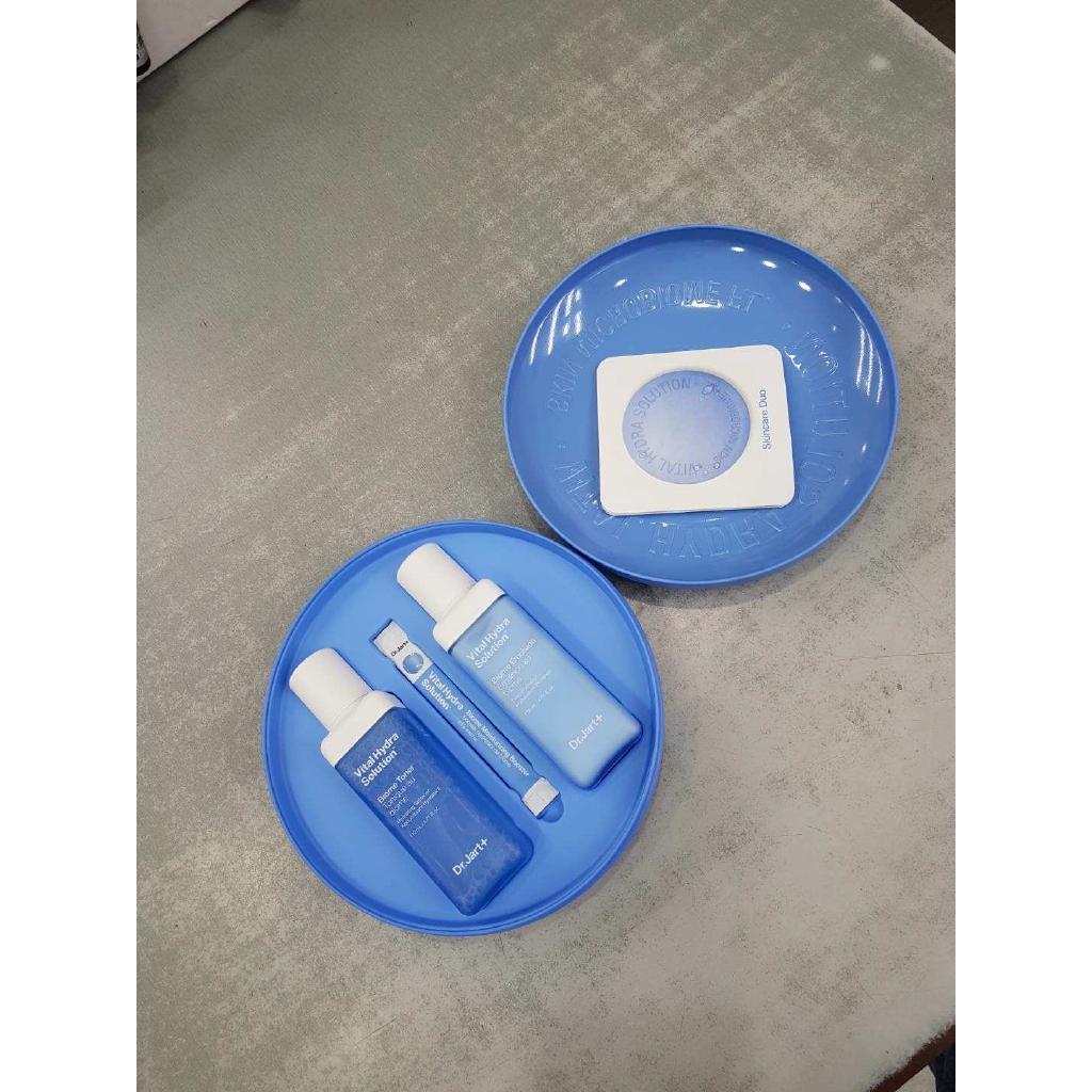 Dr.Jart+ Vital Hydra Solution Biome Toner 110ml+Emulsion 120ml+Essence 0.2g