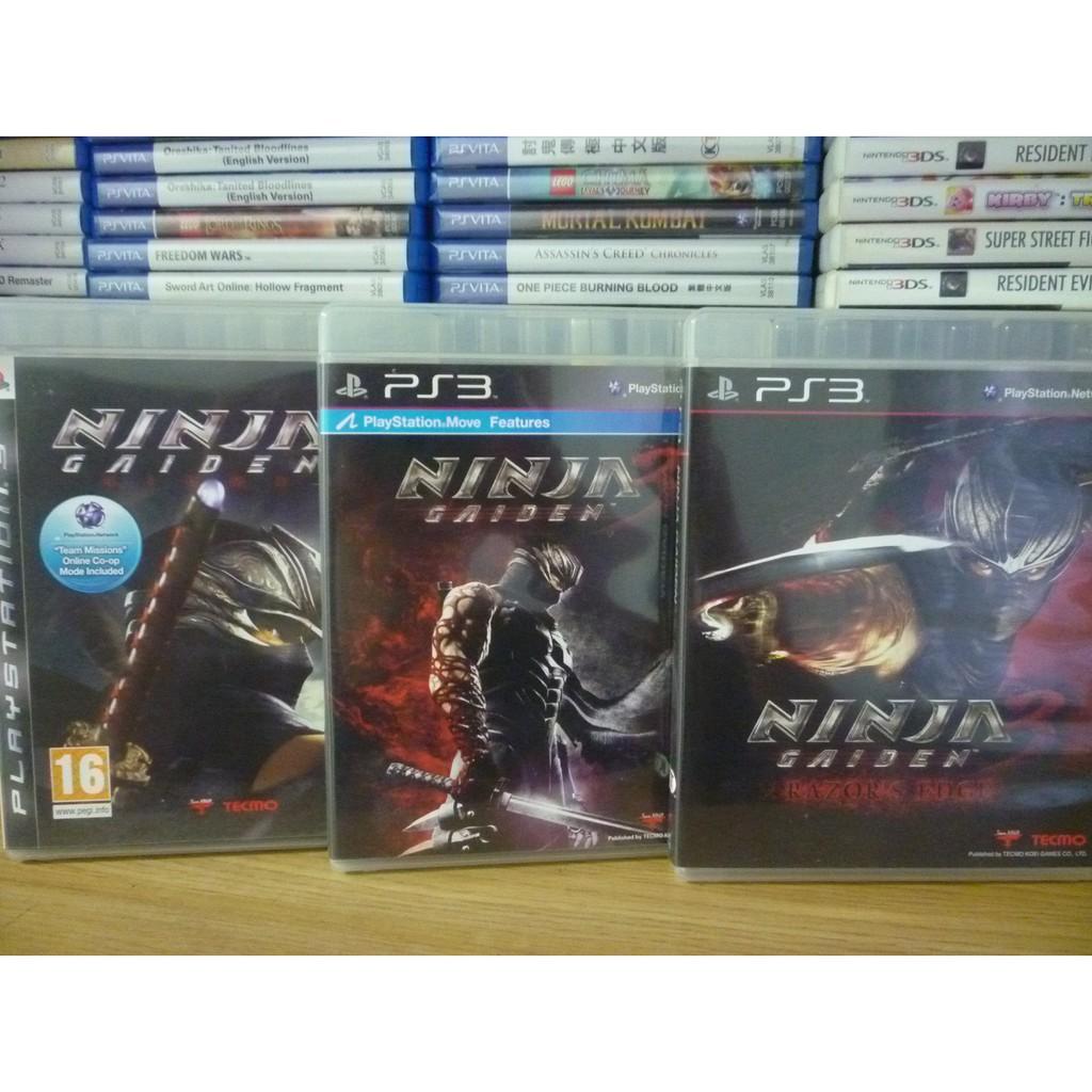 Ninja Gaiden Sigma 2 Ninja Gaiden 3 Razor S Edge Ps3 Shopee Malaysia