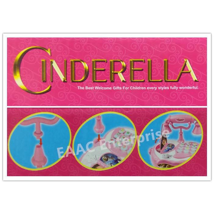 Cinderella Cute Musical Phone Toys