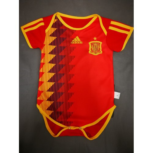 Spain Infant Home World Cup 2018 CLIMALITE Fans Jersey