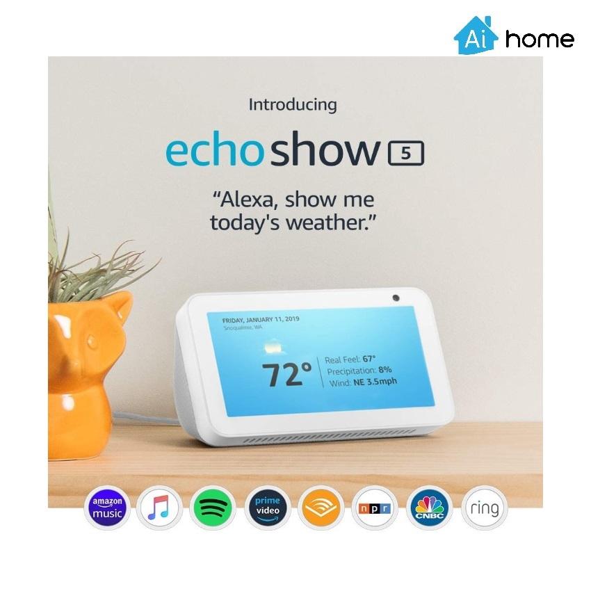 Amazon Echo Show 5 Ai Speaker Shopee Malaysia