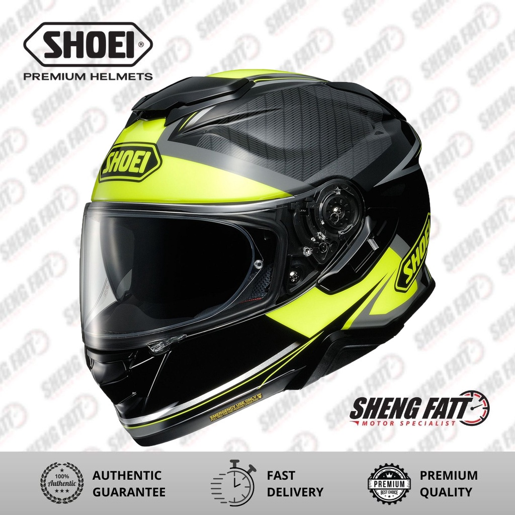 Shoei GT Air 2 Bonafide TC3 Full Face Motorcycle Helmet