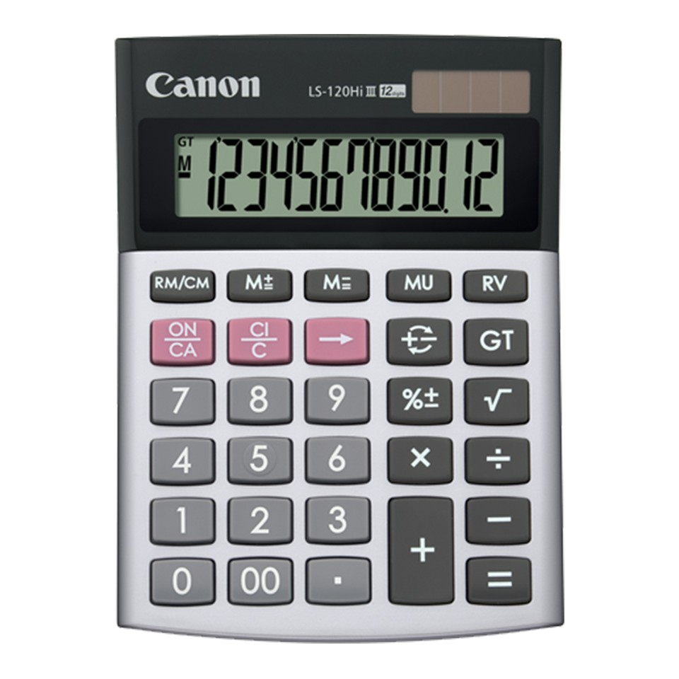 *Original* Canon Calculator LS120 Hi III (12 Digits) LS-120HI III LS 120