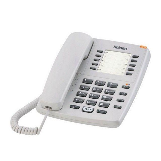 Uniden Basic Single Line Corded Speaker Phone AS7301 White