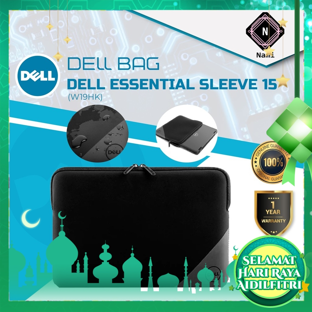 """Dell Essential Sleeve 15"""" Laptop Sleeve Case Laptop Bag Protective Case For Dell"""