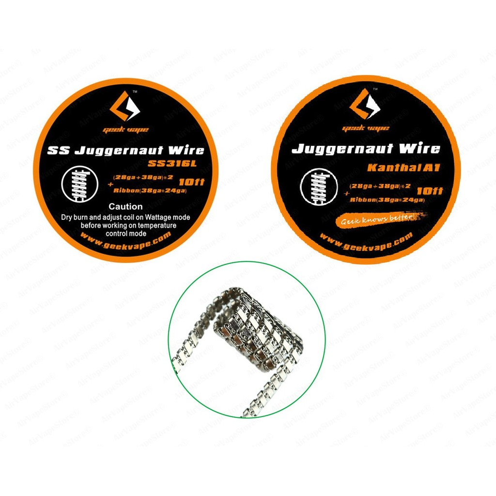 AVC Triple Twisted Coil (KPka1) Kidney Puncher USA Kanthal Wire ...