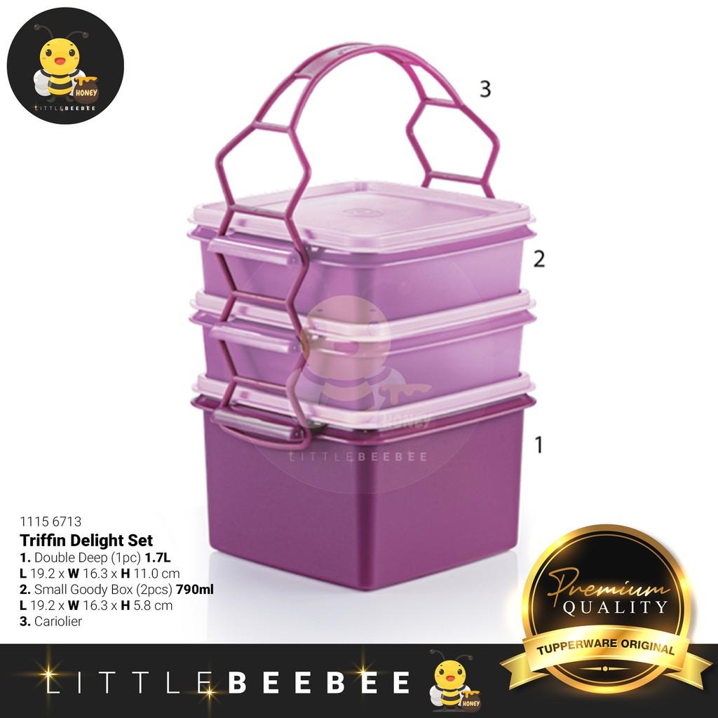 Tupperware Triffin Delight Set / Lunch Box