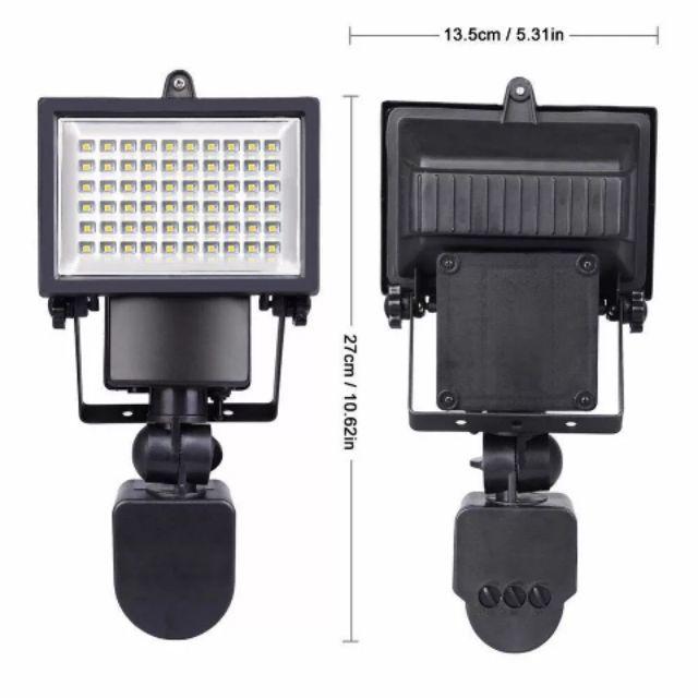[ READY STOCK ] 60 Led Solar Motion Sensor Auto On Outdoor Security Light Lamp Pelita Lampu Jualan Murah