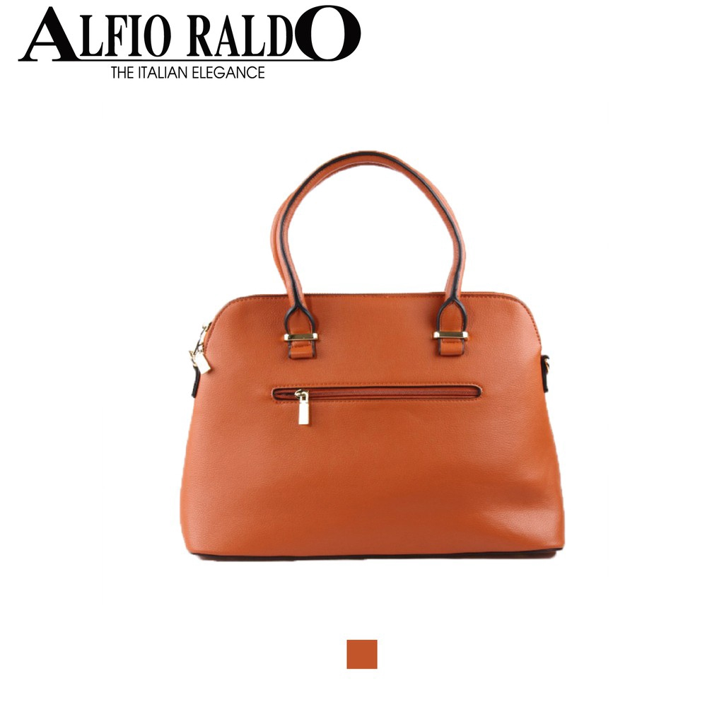 Alfio Raldo Formal Elegant Valuable Almond 3 in 1 Lux Bag Shoulder Bag Sling Bag Clutch with Detachable Strap