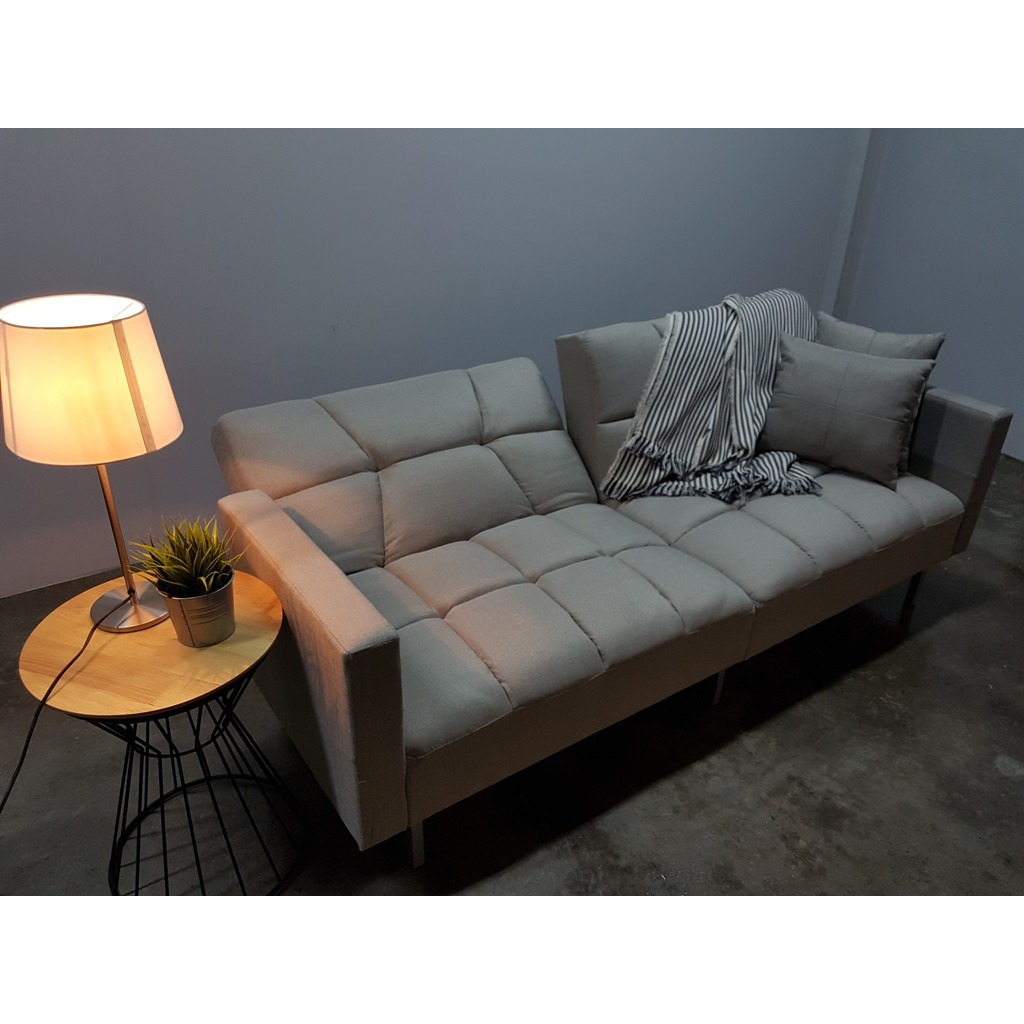 Prkombi 3 seater Sofa Bed/ 3 Seater Sofa Bed with free 2 pillows
