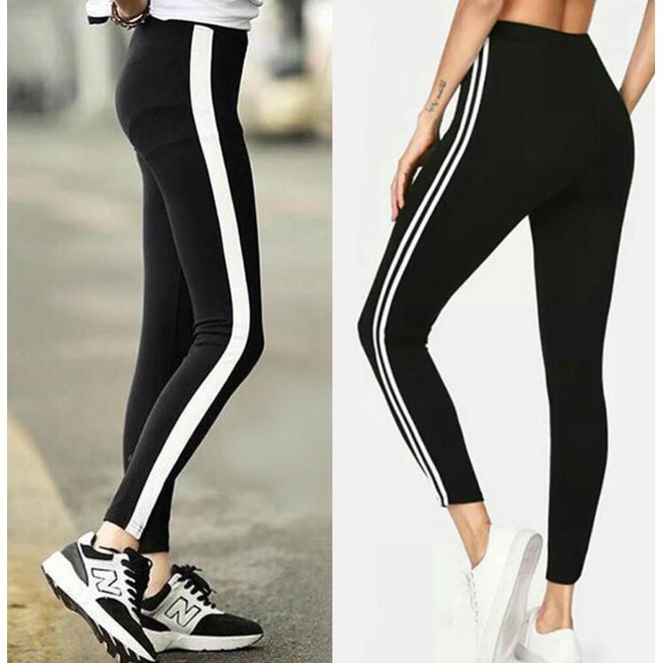 Legging List 2 White Imported Color Shopee Malaysia