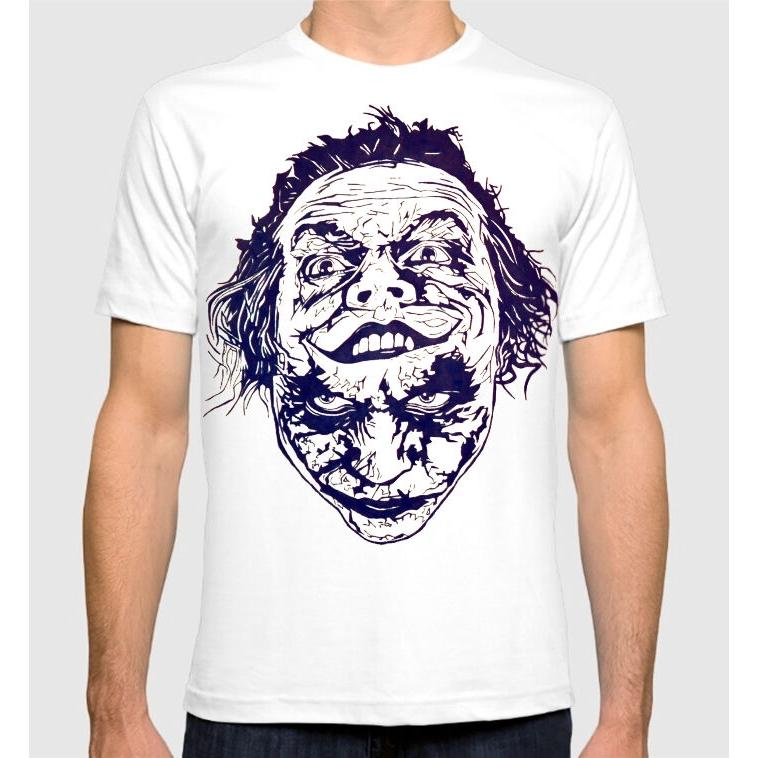 DC Comics Joker T-Shirt Uomo