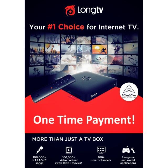 Android Tv box Long Tv   Shopee Malaysia