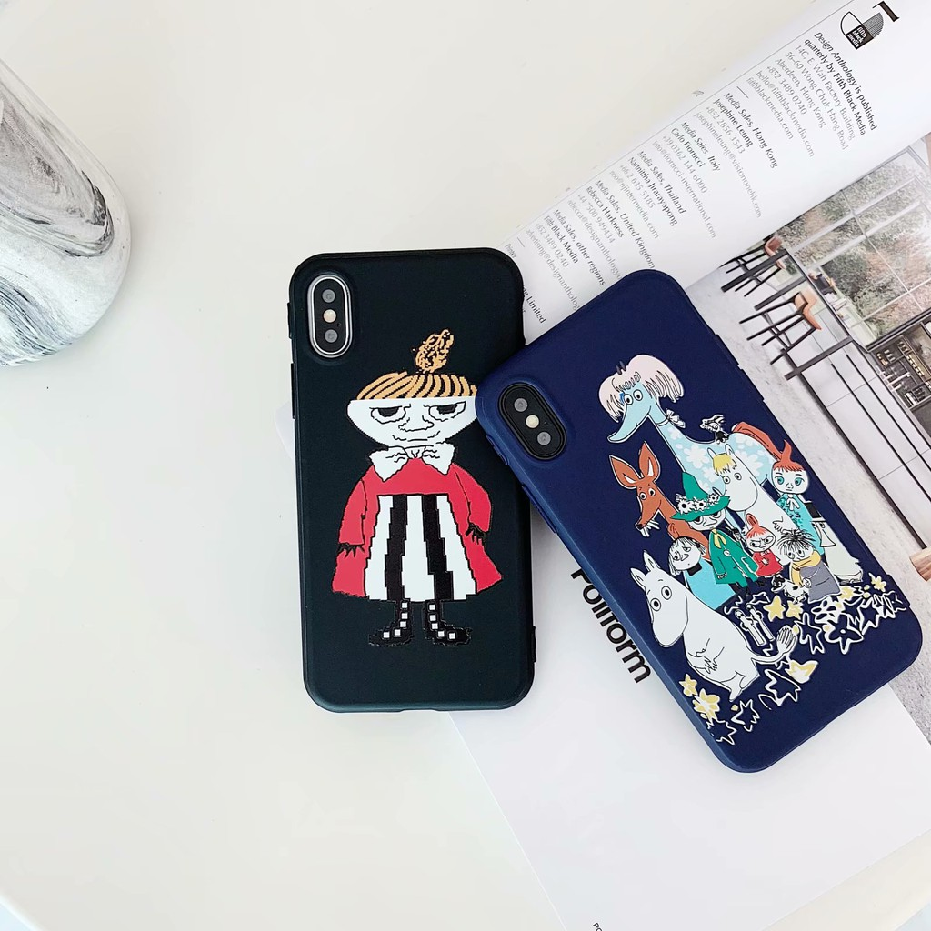 moomin Little My soft tpu phone case for iphone 6 6s plus 7 8 plus x xr xs  max