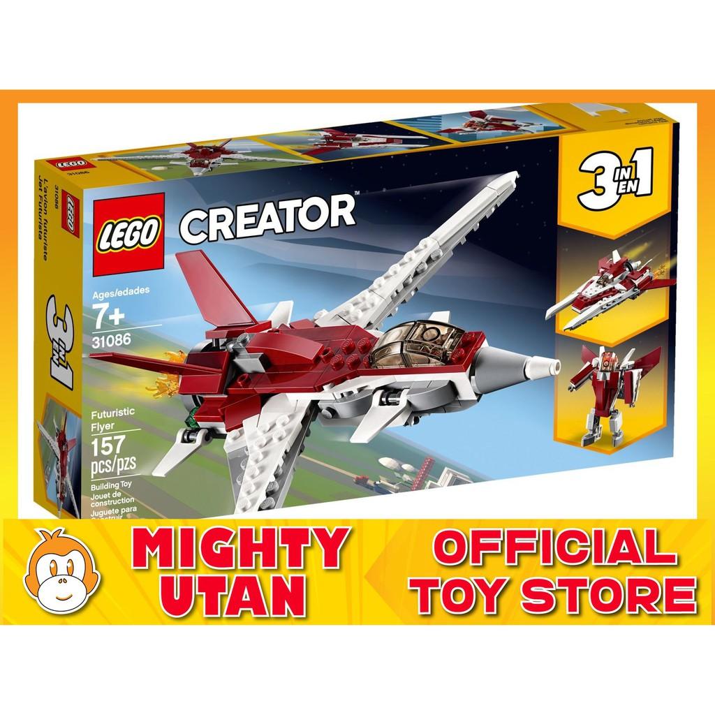 Lego Creator futurista Flyer 31086