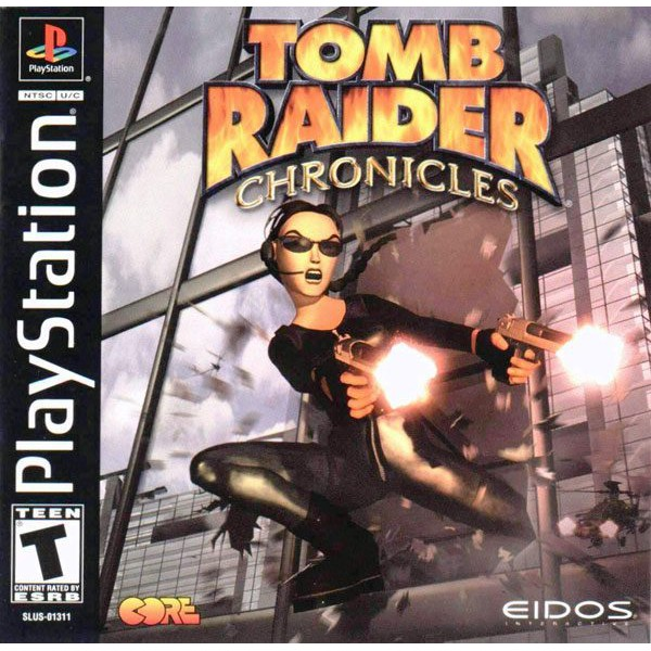 PS1 Game Tomb Raider V Chronicles, Action Adventure Game, English version / PlayStation 1
