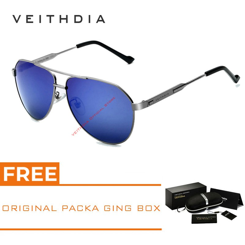 808ddfce857 VEITHDIA Men s Alloy Polarized Driving Sunglasses 6695