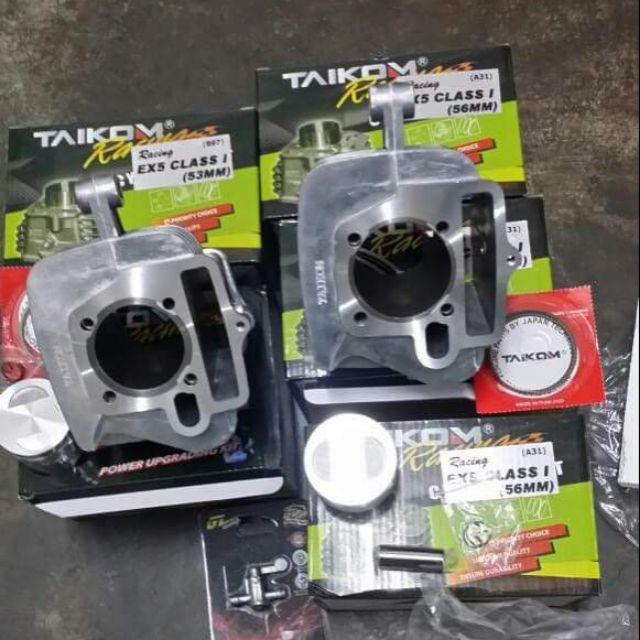 Block ex5 class1/sym/demak110 taikom complete piston kit