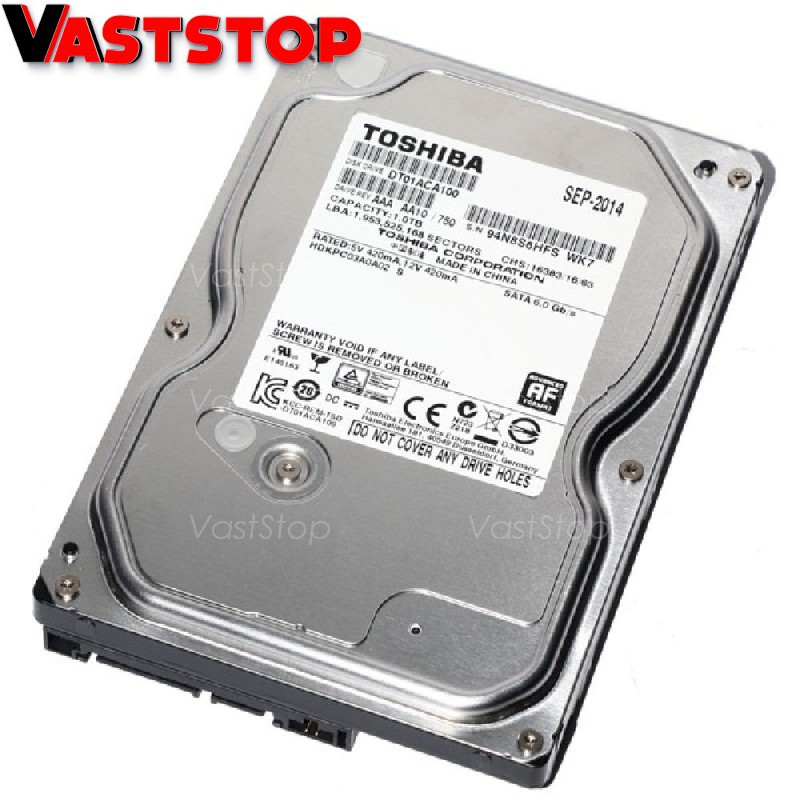Toshiba 1TB SATA 6Gb//s 7200RPM 3.5 HDD