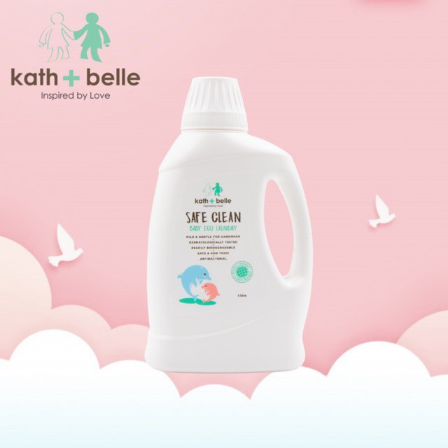 Kath + Belle Baby Eco Laundry 1L